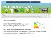 Site internet Zoé