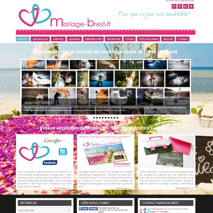 Site internet mariage brest