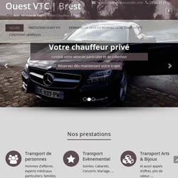 Site internet ouest VTC